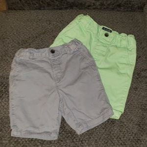 Lot of 2 Children's Place Chino Shorts
